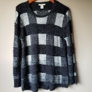 KITIT   Super Soft and Fuzzy Knit Sweater